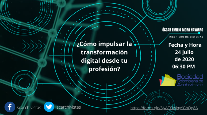 Webinar Sobre Transformación Digital.