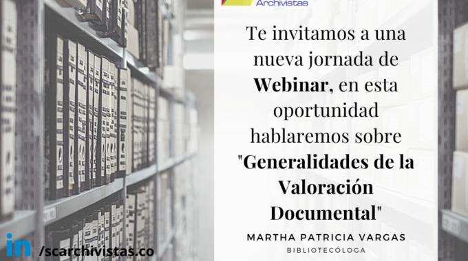 Generalidades De La Valoración Documental.